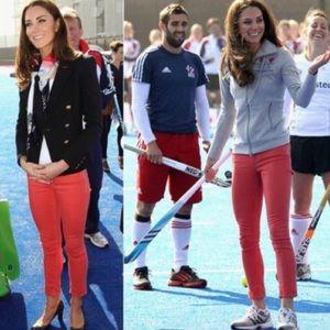 J Brand Skinny Leg Jeans in Fraise Pink
